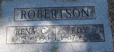 ROBERTSON, RENA C - Greene County, Missouri   RENA C ROBERTSON - Missouri Gravestone Photos