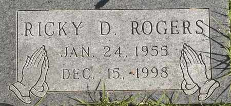 ROGERS, RICKY D - Greene County, Missouri | RICKY D ROGERS - Missouri Gravestone Photos