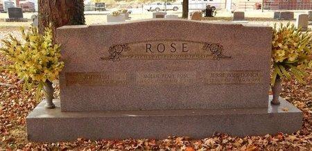 ROSE, FAMILY STONE - Greene County, Missouri | FAMILY STONE ROSE - Missouri Gravestone Photos