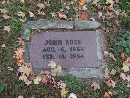 ROSE, JOHN - Greene County, Missouri | JOHN ROSE - Missouri Gravestone Photos