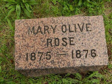 ROSE, MARY OLIVE - Greene County, Missouri | MARY OLIVE ROSE - Missouri Gravestone Photos