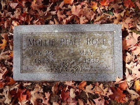 ROSE, MOLLIE - Greene County, Missouri | MOLLIE ROSE - Missouri Gravestone Photos