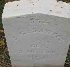 SAWYER, J C - Greene County, Missouri | J C SAWYER - Missouri Gravestone Photos