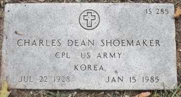SHOEMAKER, CHARLES DEAN - Greene County, Missouri | CHARLES DEAN SHOEMAKER - Missouri Gravestone Photos