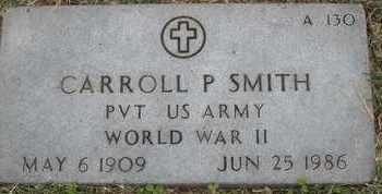 SMITH, CARROLL P - Greene County, Missouri | CARROLL P SMITH - Missouri Gravestone Photos