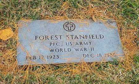 STANFIELD, FOREST  VETERAN WWII - Greene County, Missouri   FOREST  VETERAN WWII STANFIELD - Missouri Gravestone Photos