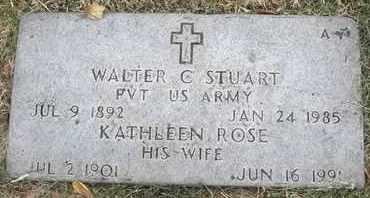 STUART, KATHLEEN ROSE - Greene County, Missouri | KATHLEEN ROSE STUART - Missouri Gravestone Photos