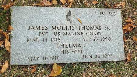 THOMAS, THELMA J - Greene County, Missouri   THELMA J THOMAS - Missouri Gravestone Photos