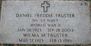 TRUSTER, DANIEL FREDDIE - Greene County, Missouri | DANIEL FREDDIE TRUSTER - Missouri Gravestone Photos