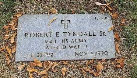 TYNDALL, ROBERT E SR  VETERAN WWII - Greene County, Missouri | ROBERT E SR  VETERAN WWII TYNDALL - Missouri Gravestone Photos