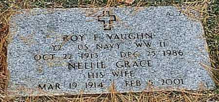 VAUGHN, NELLIE GRACE - Greene County, Missouri | NELLIE GRACE VAUGHN - Missouri Gravestone Photos