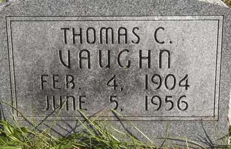 VAUGHN, THOMAS C - Greene County, Missouri | THOMAS C VAUGHN - Missouri Gravestone Photos
