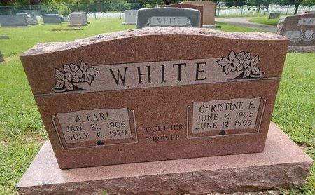 WHITE, CHRISTINE E - Greene County, Missouri | CHRISTINE E WHITE - Missouri Gravestone Photos