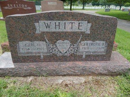 WHITE, CARL O - Greene County, Missouri | CARL O WHITE - Missouri Gravestone Photos