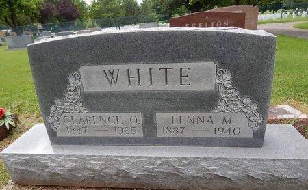 WHITE, CLARENCE O - Greene County, Missouri | CLARENCE O WHITE - Missouri Gravestone Photos