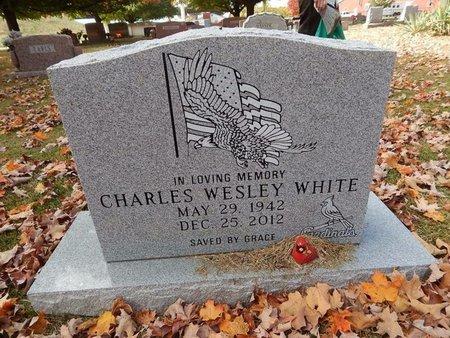 WHITE, CHARLES WESLEY - Greene County, Missouri | CHARLES WESLEY WHITE - Missouri Gravestone Photos