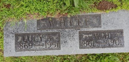 WHITE, LUCY A - Greene County, Missouri | LUCY A WHITE - Missouri Gravestone Photos