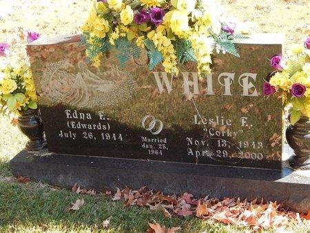 WHITE, LESLIE F - Greene County, Missouri | LESLIE F WHITE - Missouri Gravestone Photos