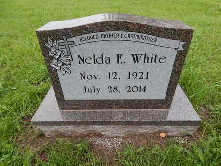 WHITE, NELDA E - Greene County, Missouri | NELDA E WHITE - Missouri Gravestone Photos