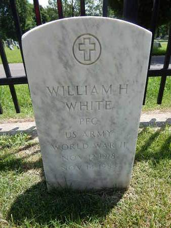 WHITE, WILLIAM H (VETERAN WWII) - Greene County, Missouri | WILLIAM H (VETERAN WWII) WHITE - Missouri Gravestone Photos
