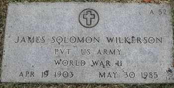 WILKERSON, JAMES SOLOMON - Greene County, Missouri | JAMES SOLOMON WILKERSON - Missouri Gravestone Photos