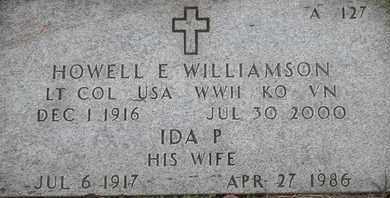 WILLIAMSON, HOWELL E - Greene County, Missouri | HOWELL E WILLIAMSON - Missouri Gravestone Photos