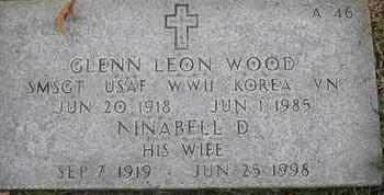 WOOD, NINABELL D - Greene County, Missouri   NINABELL D WOOD - Missouri Gravestone Photos