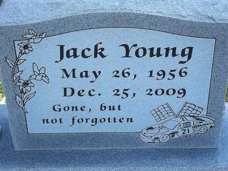 YOUNG, JACK - Greene County, Missouri | JACK YOUNG - Missouri Gravestone Photos