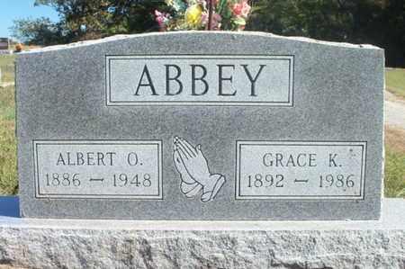 ABBEY, GRACE K. - Howell County, Missouri | GRACE K. ABBEY - Missouri Gravestone Photos
