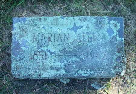 "ALLEN, MARIAN ""MARY"" - Howell County, Missouri 
