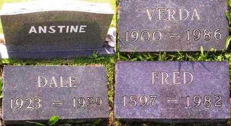 ANSTINE, DALE - Howell County, Missouri | DALE ANSTINE - Missouri Gravestone Photos
