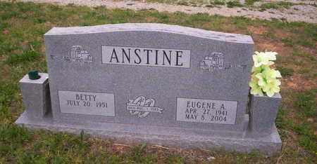 ANSTINE, EUGENE A - Howell County, Missouri | EUGENE A ANSTINE - Missouri Gravestone Photos