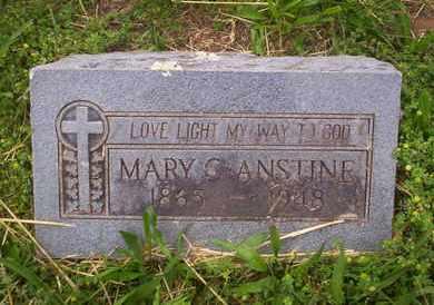 ANSTINE, MARY - Howell County, Missouri | MARY ANSTINE - Missouri Gravestone Photos