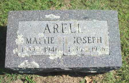 "ARELL, MARTHA ""MATTIE"" - Howell County, Missouri 