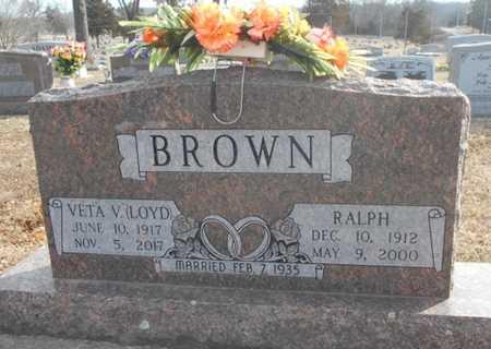 BROWN, RALPH - Howell County, Missouri | RALPH BROWN - Missouri Gravestone Photos