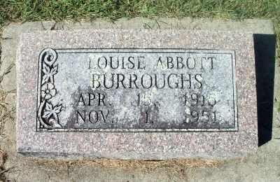 BURROUGHS, LOUISE - Howell County, Missouri | LOUISE BURROUGHS - Missouri Gravestone Photos