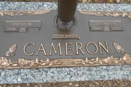 CAMERON, THOMAS EDWARD - Howell County, Missouri | THOMAS EDWARD CAMERON - Missouri Gravestone Photos