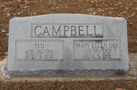 CAMPBELL, TED - Howell County, Missouri | TED CAMPBELL - Missouri Gravestone Photos