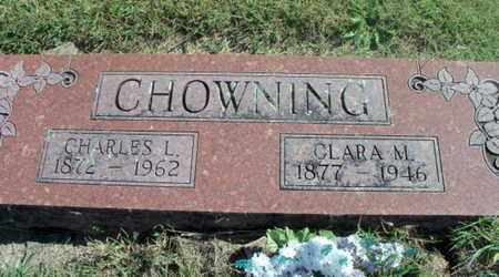 CHOWNING, CHARLES L. - Howell County, Missouri | CHARLES L. CHOWNING - Missouri Gravestone Photos