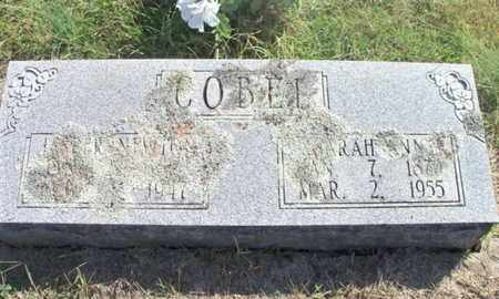 COBEL, SARAH ANN - Howell County, Missouri | SARAH ANN COBEL - Missouri Gravestone Photos