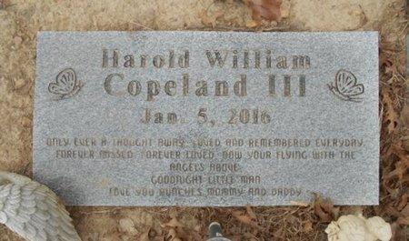 COPELAND, HAROLD WILLIAM, III - Howell County, Missouri | HAROLD WILLIAM, III COPELAND - Missouri Gravestone Photos