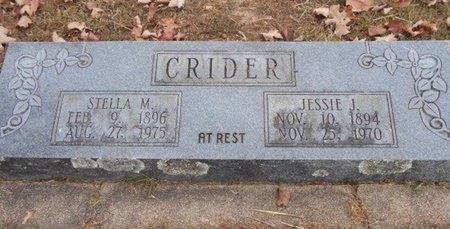 TROST CRIDER, STELLA MAY - Howell County, Missouri | STELLA MAY TROST CRIDER - Missouri Gravestone Photos