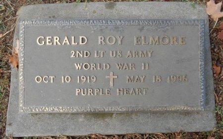 ELMORE, GERALD ROY VETERAN WWII - Howell County, Missouri   GERALD ROY VETERAN WWII ELMORE - Missouri Gravestone Photos