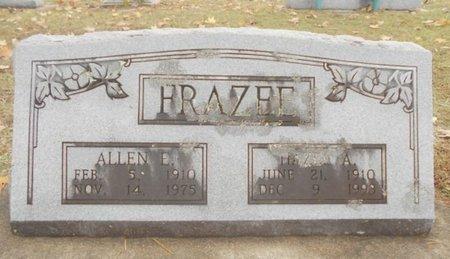 FRAZEE, ALLEN ENSON - Howell County, Missouri | ALLEN ENSON FRAZEE - Missouri Gravestone Photos