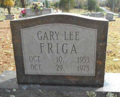 FRIGA, GARY LEE - Howell County, Missouri   GARY LEE FRIGA - Missouri Gravestone Photos