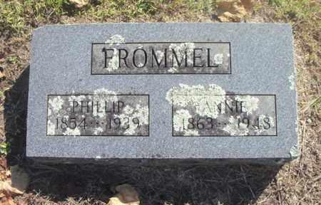 FROMMEL, PHILLIP HENRY - Howell County, Missouri | PHILLIP HENRY FROMMEL - Missouri Gravestone Photos