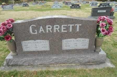 GARRETT, VESTA VIOLA - Howell County, Missouri | VESTA VIOLA GARRETT - Missouri Gravestone Photos
