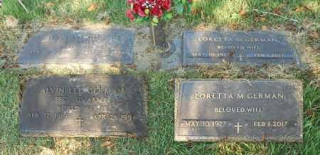 GERMAN, ALVIN LEE VETERAN WWII - Howell County, Missouri   ALVIN LEE VETERAN WWII GERMAN - Missouri Gravestone Photos