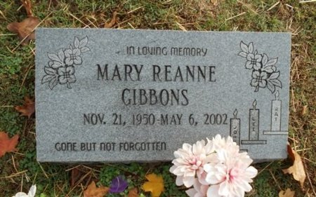 GIBBONS, MARY REANNE - Howell County, Missouri | MARY REANNE GIBBONS - Missouri Gravestone Photos