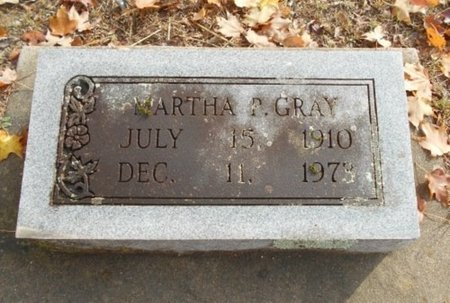 GRAY, MARTHA P. - Howell County, Missouri   MARTHA P. GRAY - Missouri Gravestone Photos